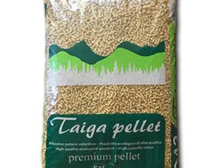 Sacco di pellet premium Taiga