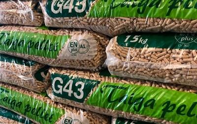 Sacchi di pellet premium Taiga