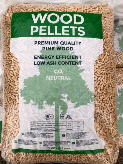 Sacco da 15 chili di Wood Pellet